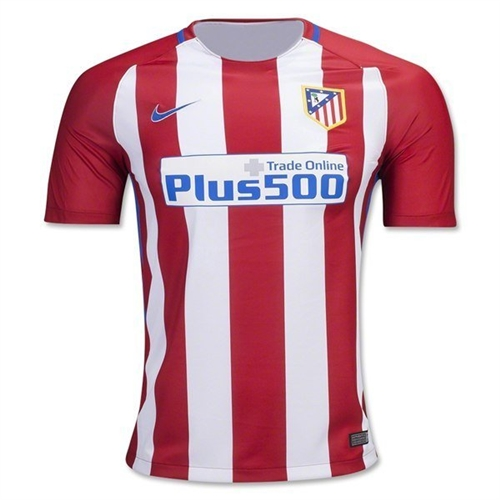 Atletico Madrid Home Shirt 2016-17