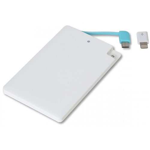 Omega Power Bank 2000mAh, white (OMPB20CCWML)